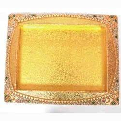 Golden Wedding Platter