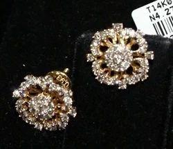 Stylish Diamond Earring