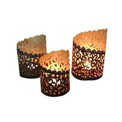 Candle Holder Set Of 3 Pcs