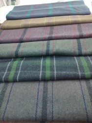 Harshit International Assorted Checks Donation Blanket, Size: 150*230 Cms
