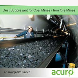 Dust Suppressant for Coal Mines / Iron Ore Mines