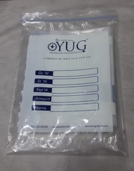 Transparent Resealable Plastic Bags
