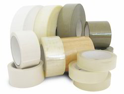 20m Polythene Transparent Self Adhesive Tapes, Feature: Water Proof, Thickness: 0.5-2mm