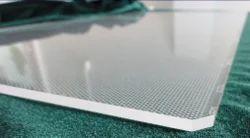 Dot Printing On Acrylic Sheet