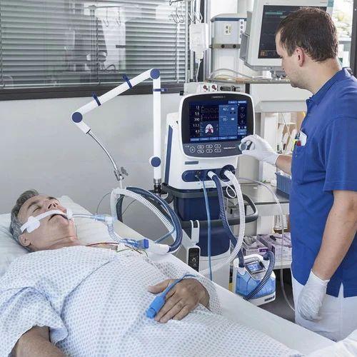 Medical ICU Ventilator, Ventilator Machine, ICU Ventilator, Medical  Ventilator, Oxygen Ventilator, Ventilator Equipment - Sonomatrix Medicare,  Lucknow | ID: 17830137597