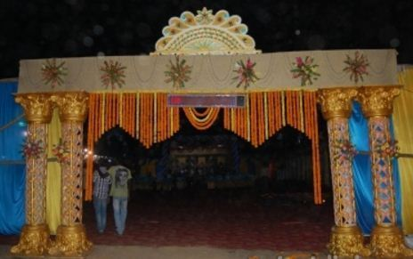 Entry Wedding Gate & Bhola Tent House - Service Provider of Wedding Catering Services ...