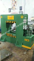 Hydraulic Rail Line Straightening Press