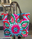 Ladies Suzani Embroidered Fashionable Bag