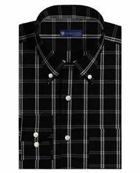 Wuxi Checks Men's Custom Casual Shirt