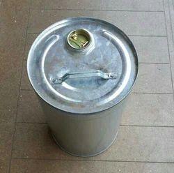 Galvanized Round Drum, Capacity: 0-50 L