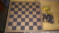 Chess Board With Dice