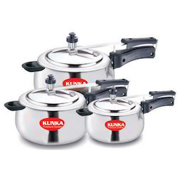 Silver Pressure Cooker Induction Base