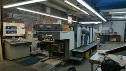 Komori 526 ES Five Colour Offset Printing Machine