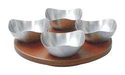 Silver Coated Bowls