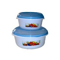 Round Storewell Container 2 Pcs Set