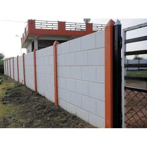 Commercial Walls Landscape Design: RCC Designer Precast Boundary Wall, Thickness: 50 Mm, Rs 60 /square Feet