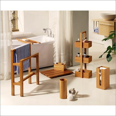 Bathroom Accessories Bamboo bamboo home decor - bathroom accessories manufacturer from kolhapur