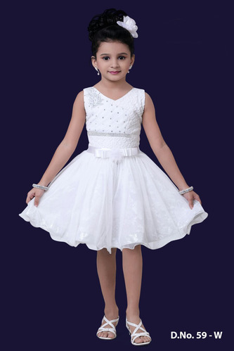 7bf20f6073 Girls White Frocks