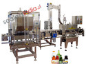 Glass Bottle Filling & Capping Machine