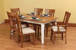 Wooden Dining Set Table and Chairs