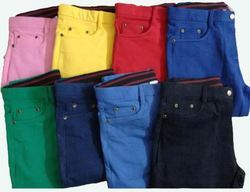 Girls Colored Jeans