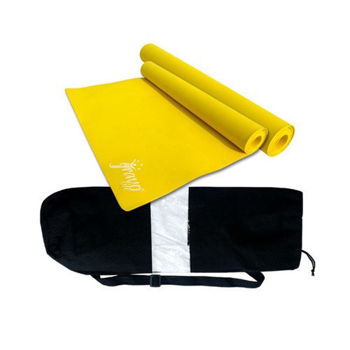 Rectangular Size Yoga Mats With Bags, Rs 350 /piece