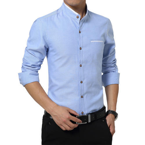 706d626c9 Mens Cotton Sky Blue Casual Shirt, Rs 200 /piece, Falcon Fashions ...