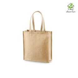 Jute Shopping Bag - Self Handle