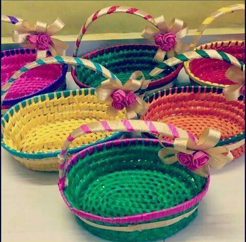 Palm Leaf Baskets Size Regulat Rs 120 Piece Sahaskriya Fashion