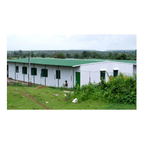 Steel Prefabricated Temporary Shelter, Rs 400 /square Feet