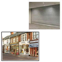 Automatic Motorized Shutter for Shops