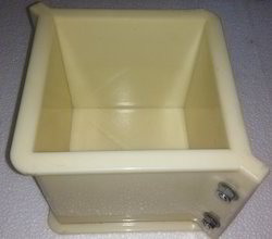Plastic Concrete Cube Mould