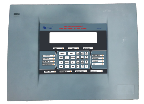 Stainless Steel Three Phase Ravel Fire Alarm Panel