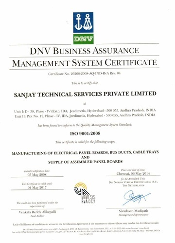 Sanjay Technical Services Private Limited Manufacturer