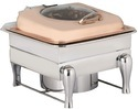 Heritage Chafing Dish With Copper Plating