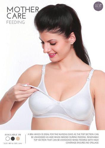 35dc6c32de585 Cotton Interlock Rajini Seamless Mothercare Maternity Bra, Rs 138 ...