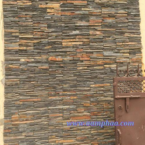 Stone Elevation Tiles : Stone wall elevation tile at rs square feet s