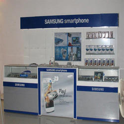 Metal Display Counter
