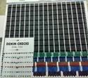 Denim Check Fabric