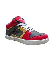 Addios Red And Gold Casual Shoe