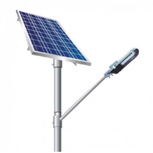 Street Light Solar: Chrome Solar Street Lights, Rs 5000 /piece, AFM Solar