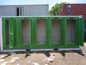 Steel Eco Friendly Green Prefabricated Workman Toilet For Commercial