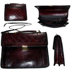 Handmade Leather Laptop Bag