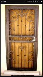 Mild Steel Ms Safety Doors