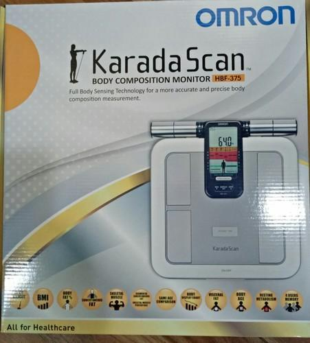 How does omron body fat monitor work