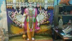 Lord Vishnu Marble Sculpture