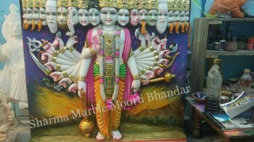 Lord Vishnu Marble Sculpture At Rs 45000 Piece Laxmi Vishnu