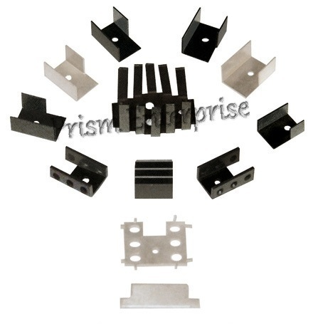 Aluminium Stamped Heat Sinks