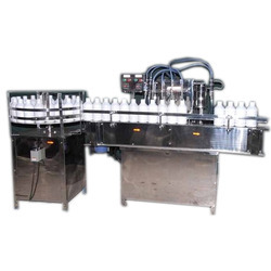 Automatic Liquid Filling Machine, Capacity: 40 To 80 Container/Min