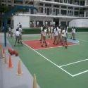 PVC Outdoor Basketball Court Flooring
